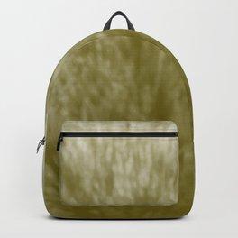 Yellow-Orange Fur Backpack