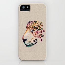 Fractal Jaguar iPhone Case