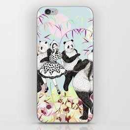 Panda Dance iPhone Skin