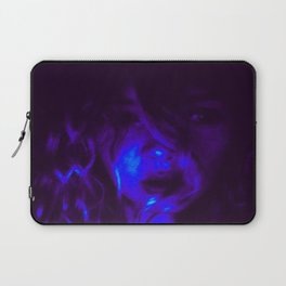 Blue Anointed  Laptop Sleeve