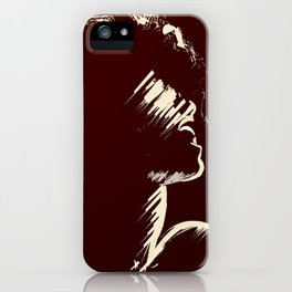 Melodious Imprints iPhone Case