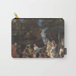 Giovanni Bellini and Titian The Feast of the Gods 1514 1529 Painting Carry-All Pouch