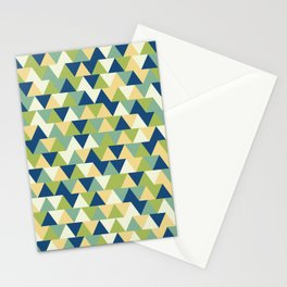 Rockpool Triangles Stationery Cards