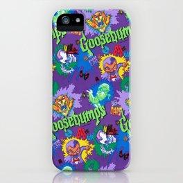 Goosebumps 90's Pattern iPhone Case