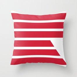 """Redzone """"R"""" Pillow Throw Pillow"""