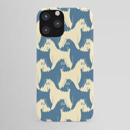 Dog Pattern | Schnauzer | M. C. Escher Inspired Artwork by Tessellation Art iPhone Case