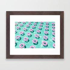 Summer Vibes (Float-2) Framed Art Print