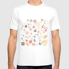 Flower pattern 04 MEDIUM White Mens Fitted Tee