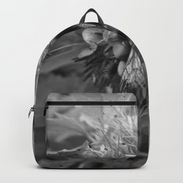 Bee Friends #2 (Black and White) Backpack