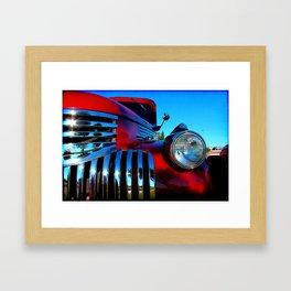 Candy Apple Red Framed Art Print