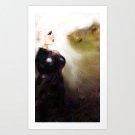 Art Woman Art Print