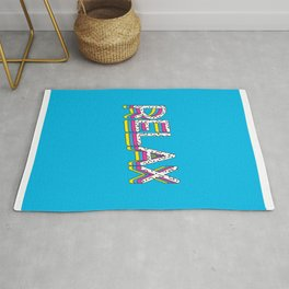 Relax Quote Rug
