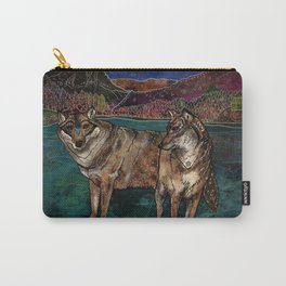 Wolf Love Carry-All Pouch