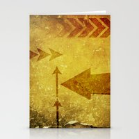 arrows Stationery Cards featuring Arrows by Leah M. Gunther Photography & Design