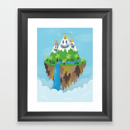 Flight of the Wild Framed Art Print
