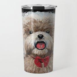 Dog painting Travel Mug