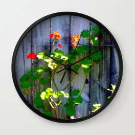 Blooming Sunday Wall Clock