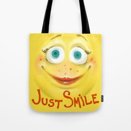 Just Smile :) Tote Bag