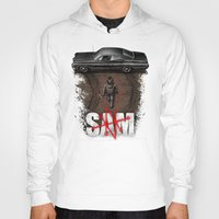 sam winchester Hoodies featuring Sam by Six Eyed Monster