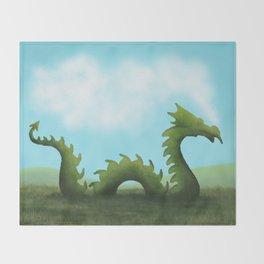Dreams Of A Dragon Throw Blanket