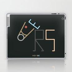 h- horse Laptop & iPad Skin