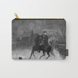 George Washington At The Battle Of Trenton Carry-All Pouch