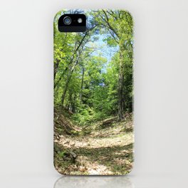 Towering forest iPhone Case