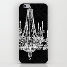 Black and White Chandelier iPhone & iPod Skin