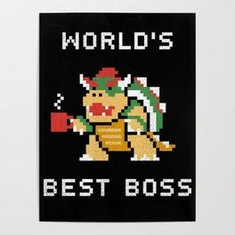 WORLD BEST BOSS Poster