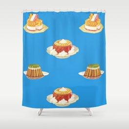 Gelatin Delight Shower Curtain