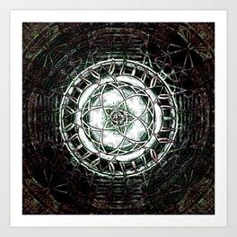 pentacle1 Art Print