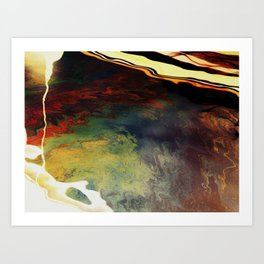 Fluid4 Art Print