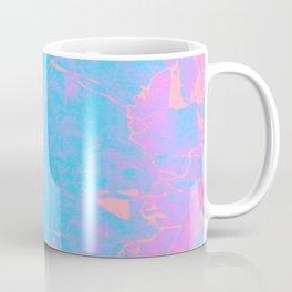 Pink and Blue Marble Coffee Mug