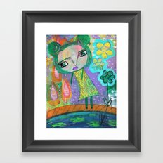 Dreaming of Giverney Framed Art Print