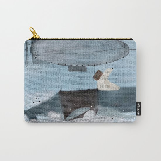 barney and the whale Carry-All Pouch