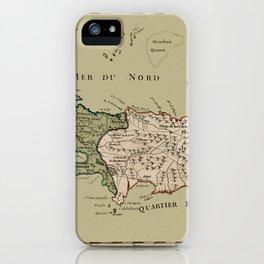 Map Of Hispaniola 1767 iPhone Case