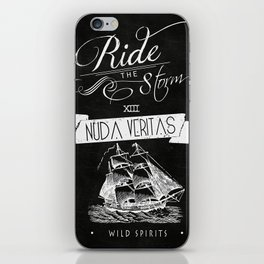 Nuda Veritas II iPhone Skin
