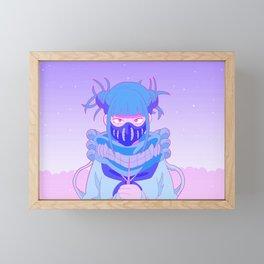 Love, live and die Framed Mini Art Print