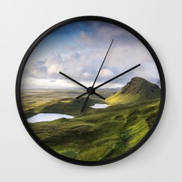 The Beauty of the Quiraing Wall Clock