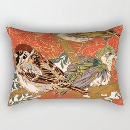 Morning Peonies Rectangular Pillow