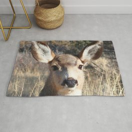 Watercolor Deer, Mule 24, Crestone, Colorado, Darling Doe Rug