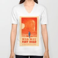 mad max V-neck T-shirts featuring Mad Max: Fury Road by days & hours