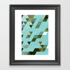 Mint Chip Framed Art Print