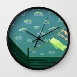 Oh Summer Wall Clock