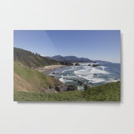 Cannon Beach View from Ecola Park Metal Print
