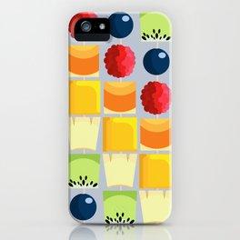 Fruit kebab iPhone Case