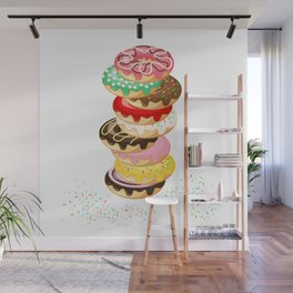 Stack of Donuts Wall Mural