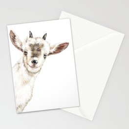 Oh My Sneaky Goat Stationery Cards
