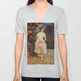 The Orchard Of Me - Insta likes Unisex V-Neck
