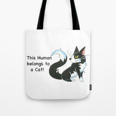 Cat Ownership (Tuxedo) Tote Bag